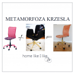 Metamorfoza krzesła z IKEA – DIY