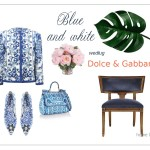 Blue & white – majolika Dolce and Gabbana