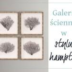 Galeria ścienna w stylu hamptons – DIY