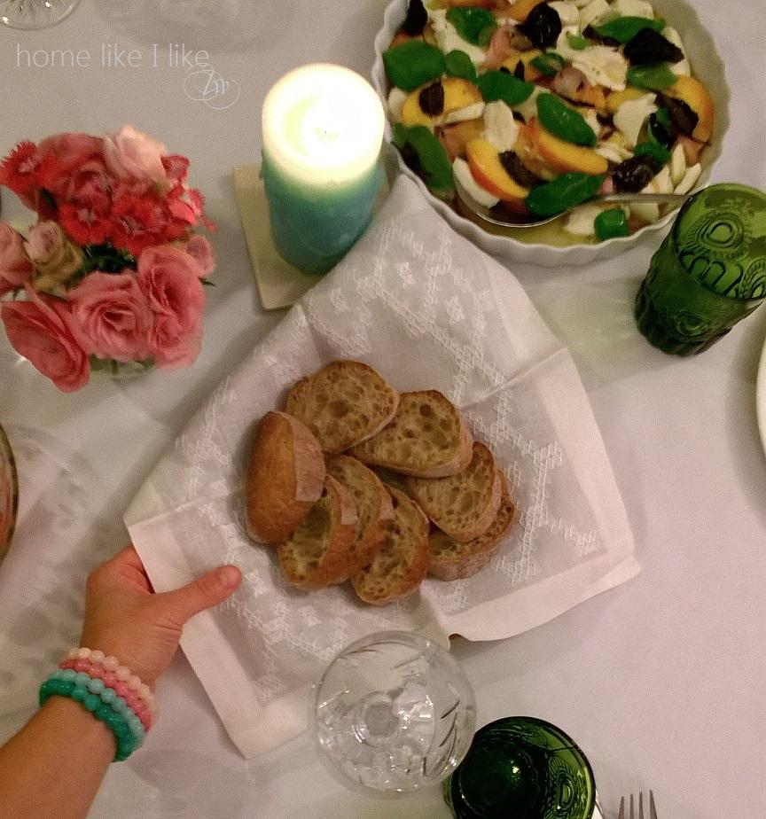 kolacja z przyjacielem