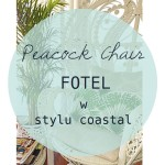 Peacock Chair – fotel w stylu coastal