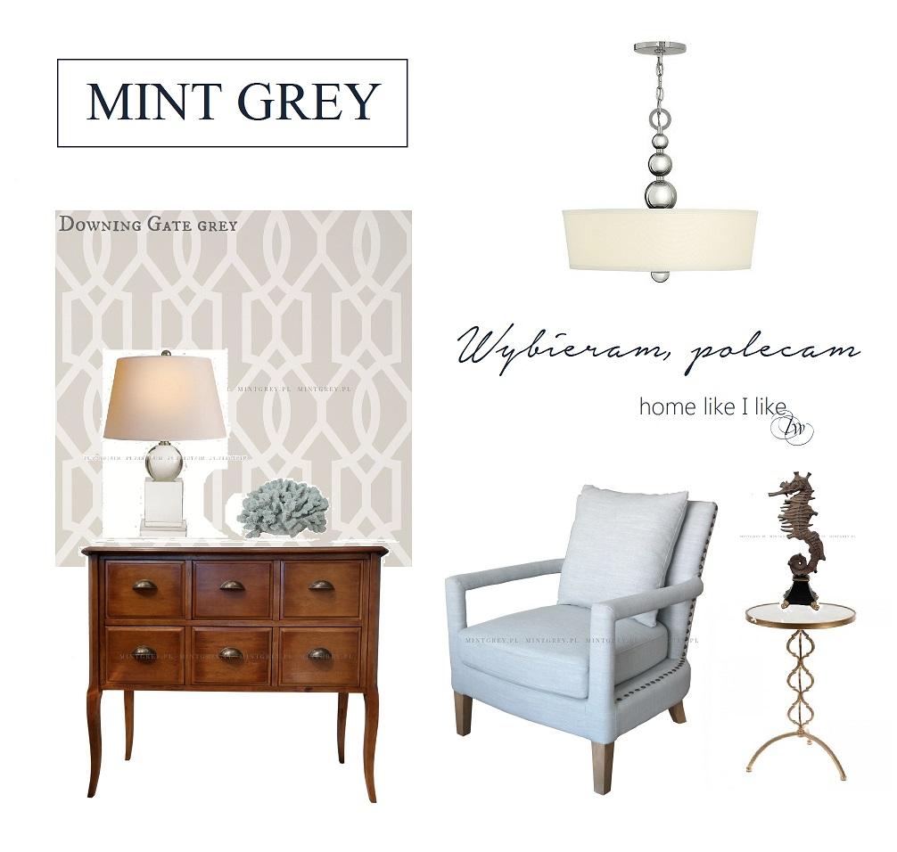 wybieram polecam - mint grey
