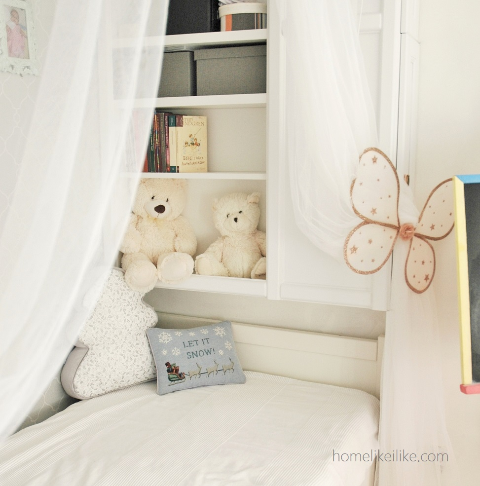 winter girl room - homelikeilike.com - let it snow