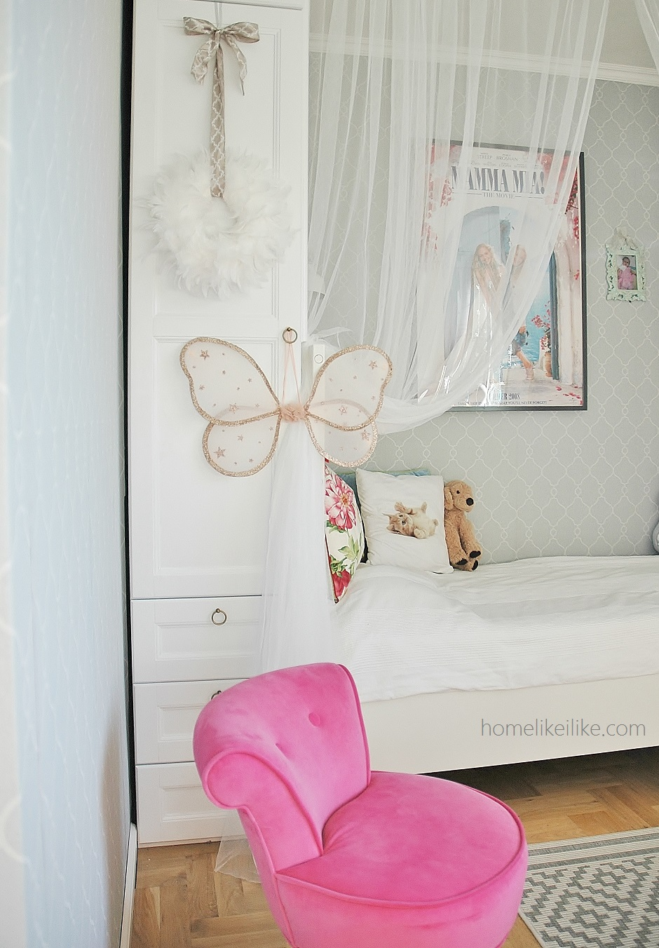 girl room - homelikeilike.com