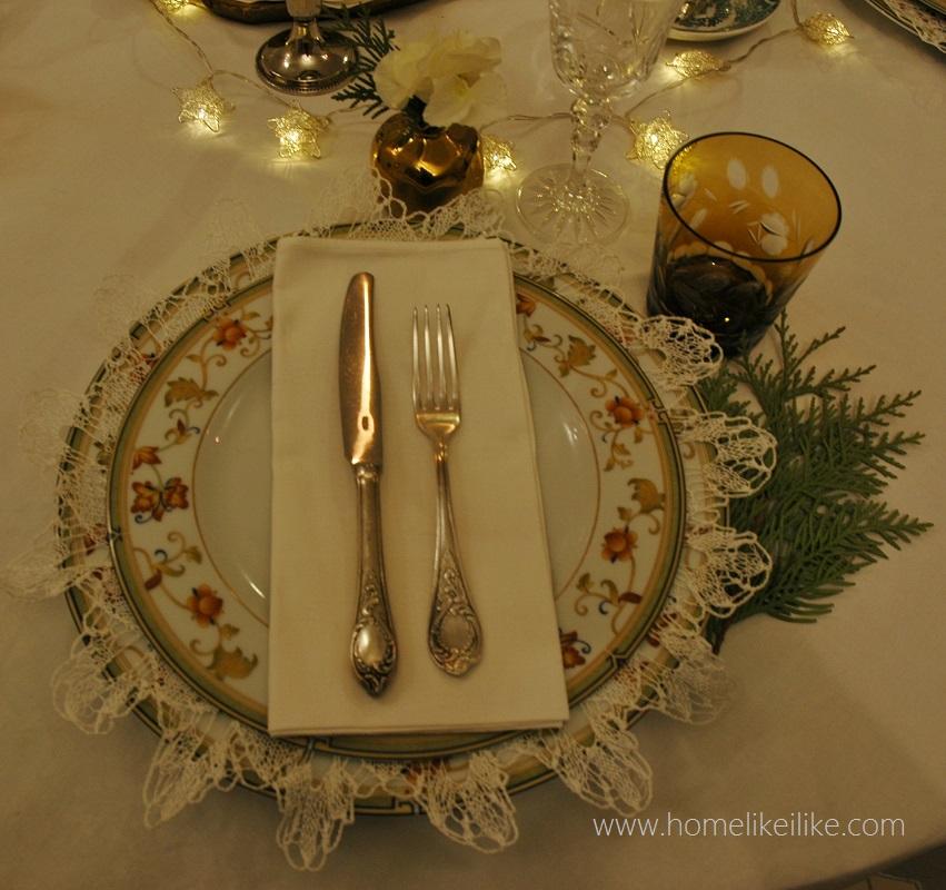 christmas inspirations - świąteczny stół