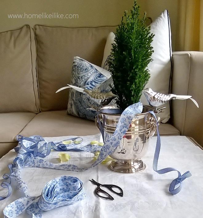 ozdoby świąteczne - tasiemki - homelikeilike.com