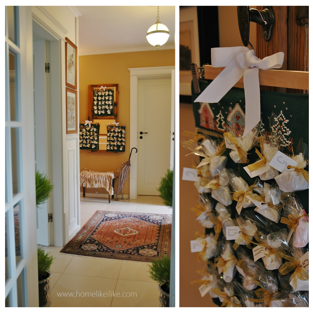 ozdoby świąteczne - kalendarze adwentowe - homelikeilike.com