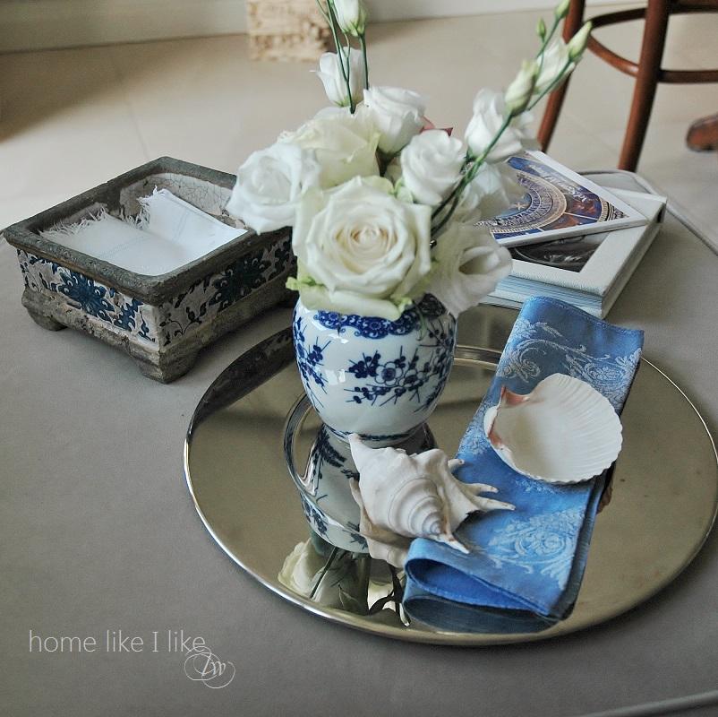 biało-niebieskie skarby