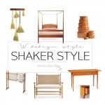 Jak pewna nastolatka odkryła Shaker style
