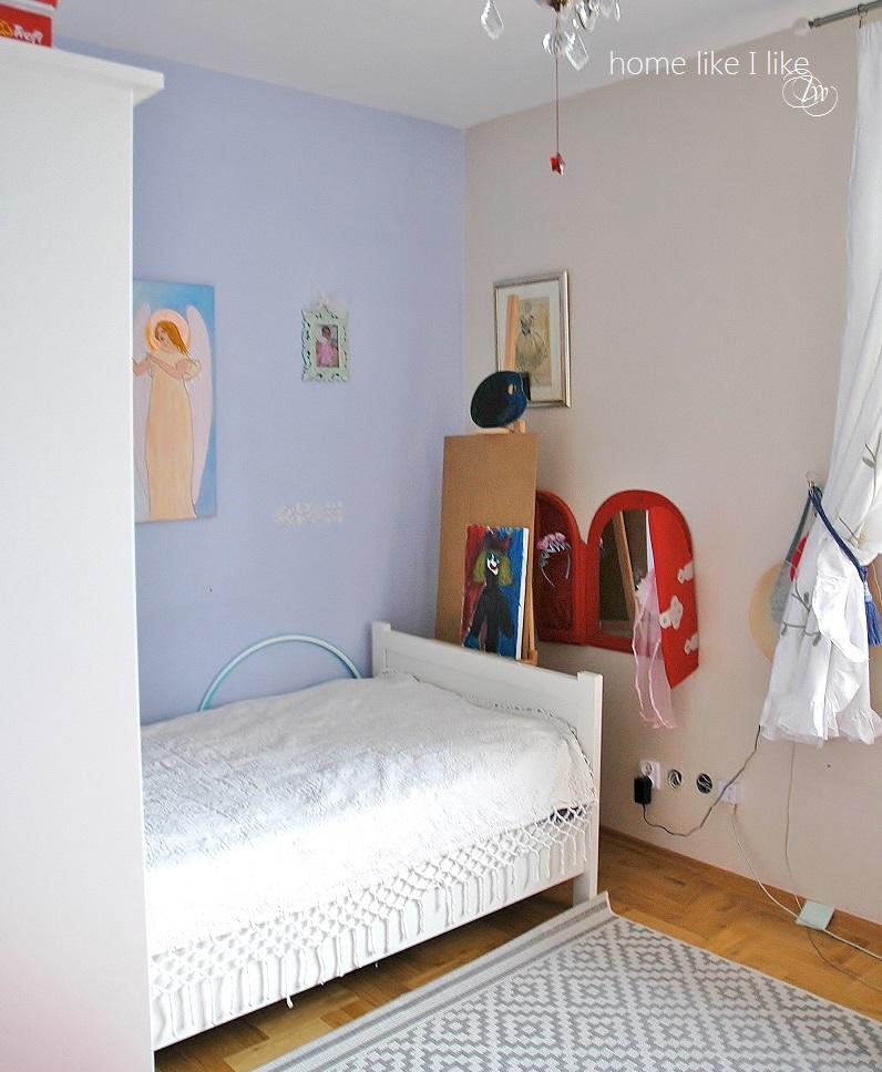 metamorfoza pokoju dziewczynki - before