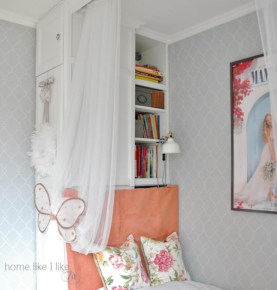 ikea metod w pokoju dziewczynki - homelikeilike.com
