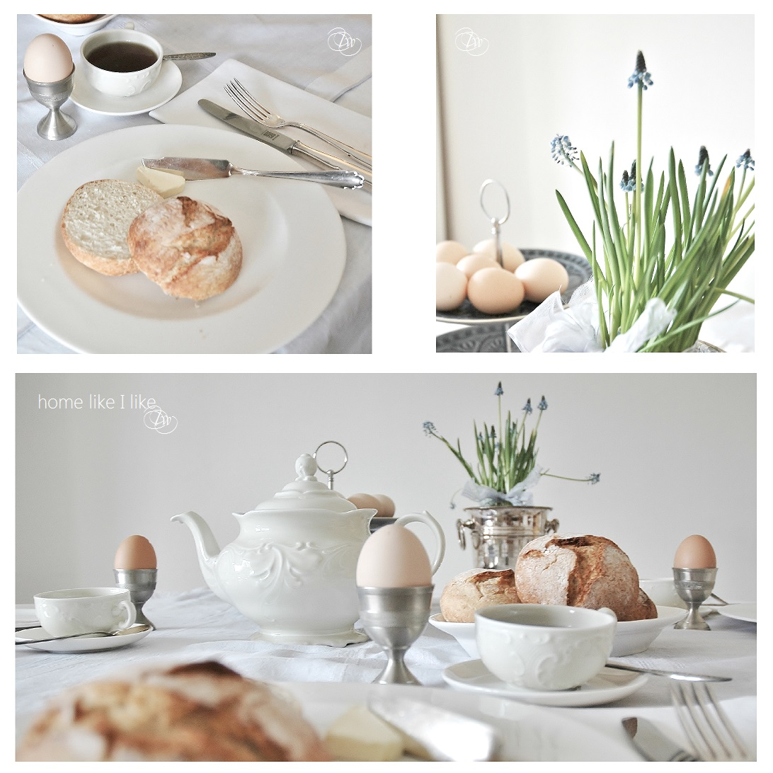 serenity on easter table - homelikeilike.com