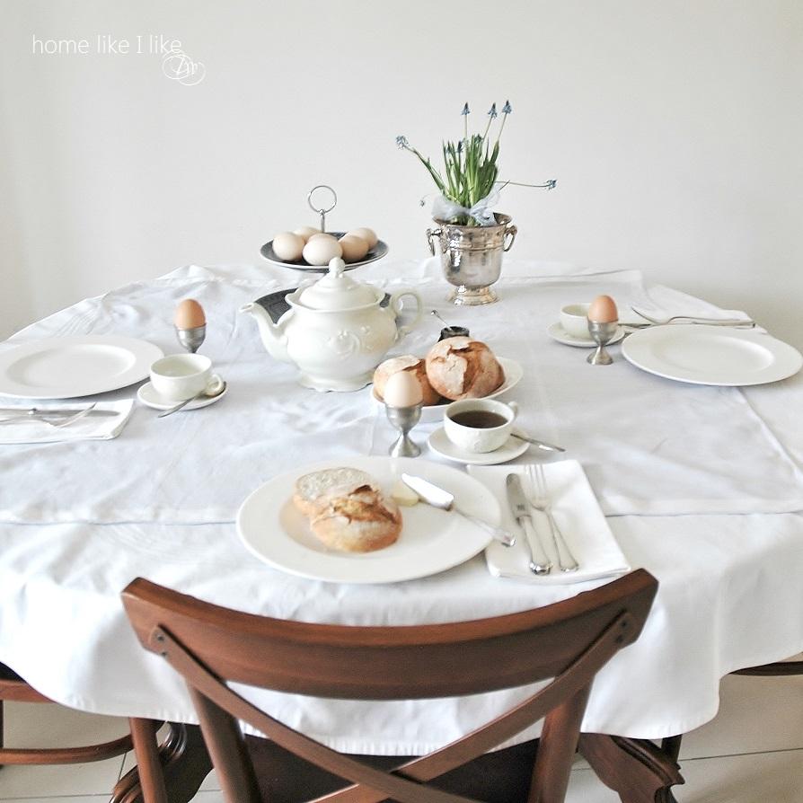 serenity i wielkanocny stół - homelikeilike.com