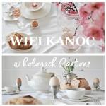 Wielkanocny stół w kolorach Pantone