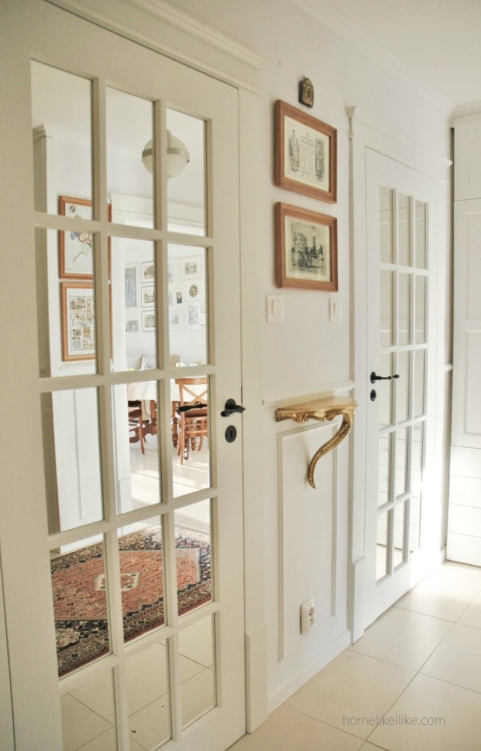 french doors - drzwi francuskie - homelikeilike.com