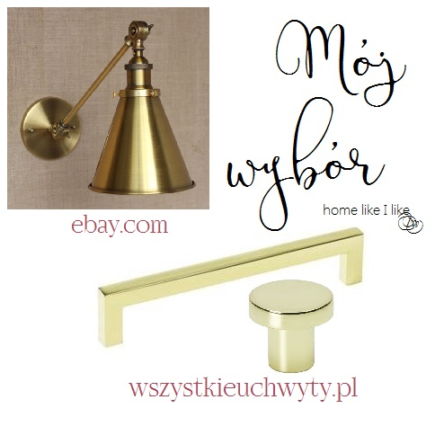 gold hardware for kitchen - homelikeilike.com