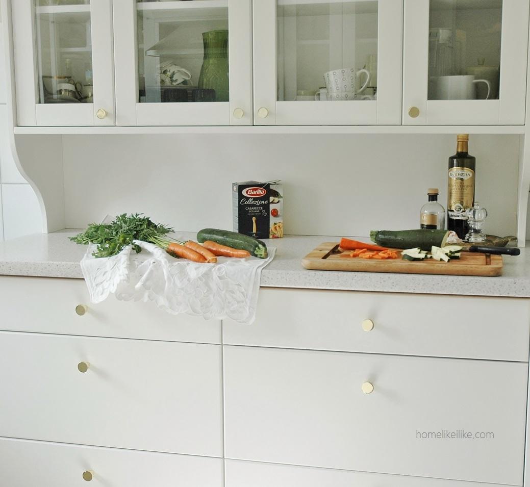 złoto w kuchni - homelikeilike.com