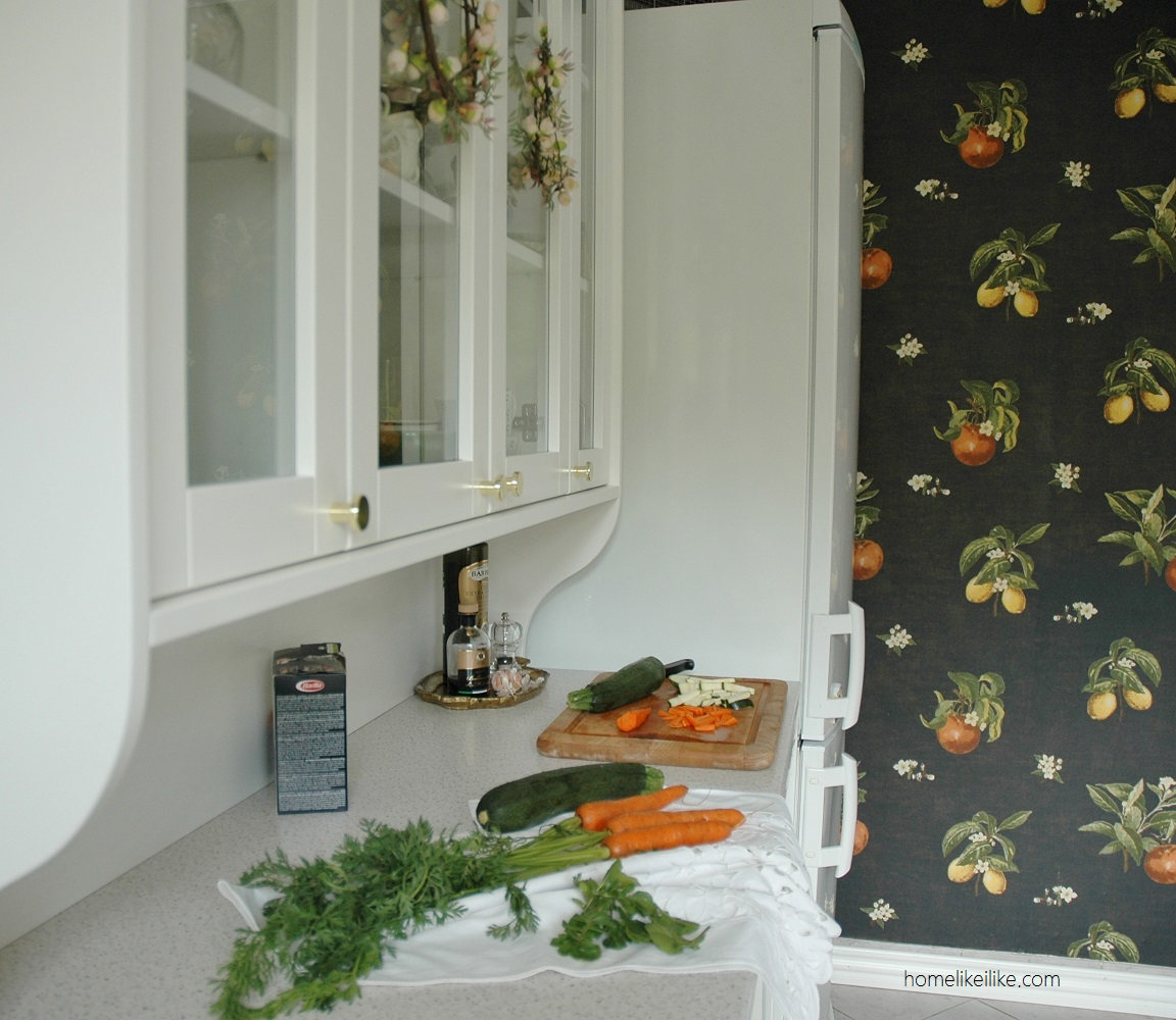 kitchen wallpaper - homelikeilike.com