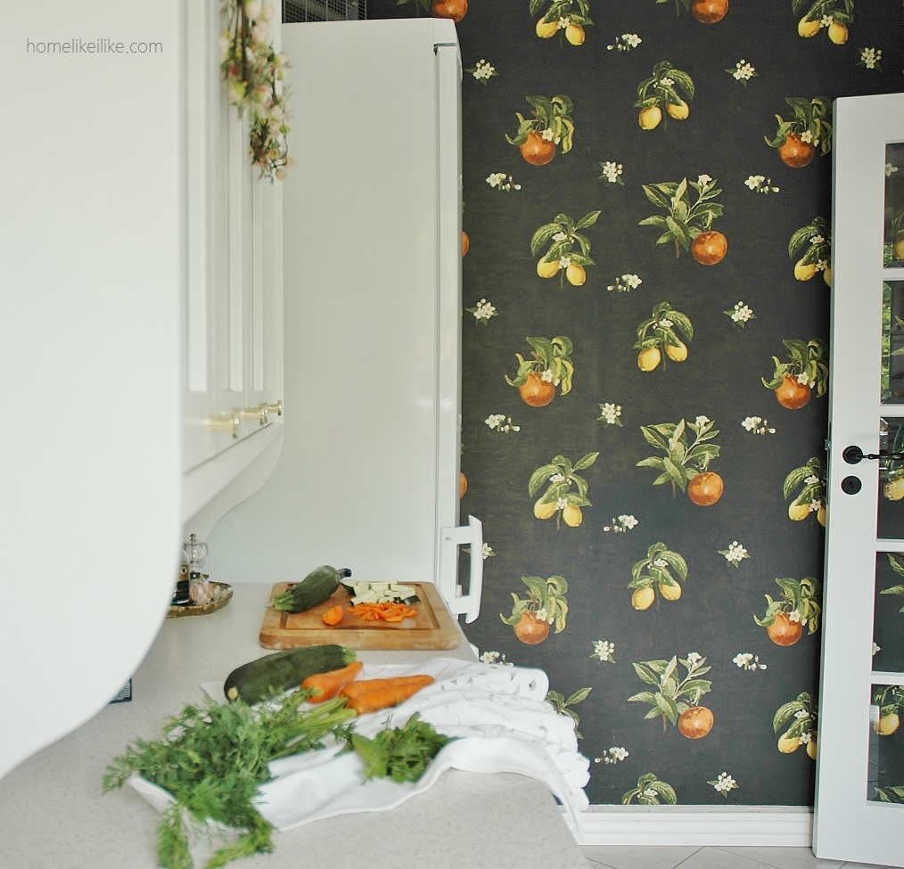 wallpaper kitchen homelikeilike.com