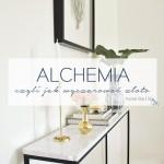 Alchemia, czyli jak wyczarować złoto