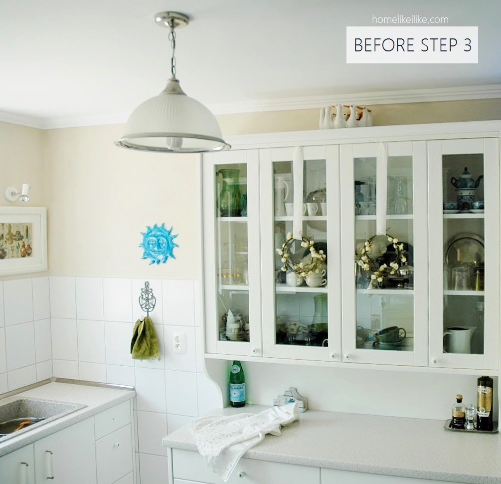 my kitchen before - homelikeilike.com