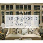 Touch of Gold w Mint Grey – sztuka na salonach