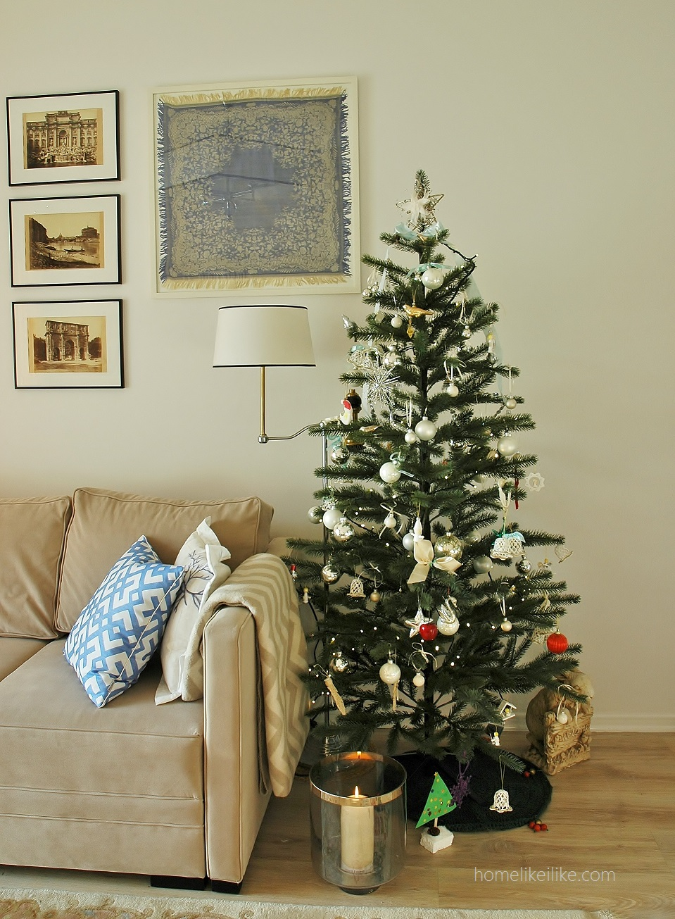christmas tree from ikea - homelikeilike.com