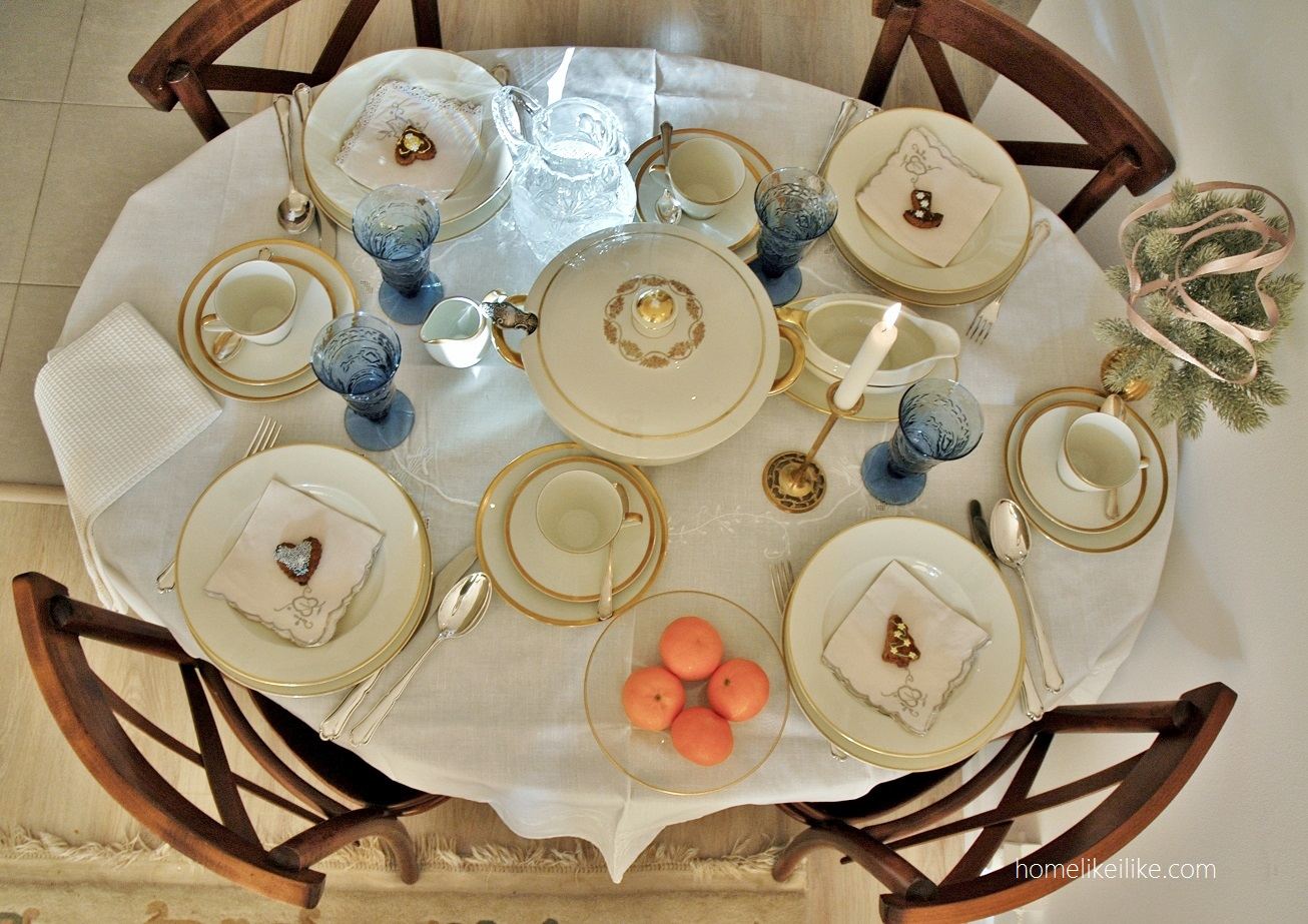 świąteczny stół - homelikeilike.com