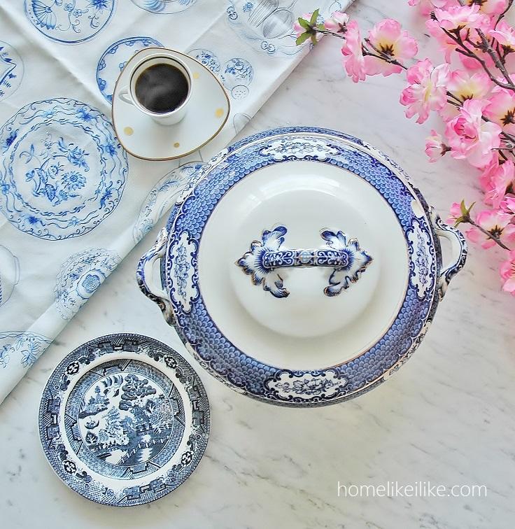 blue and white obsession - homelikeilike.com