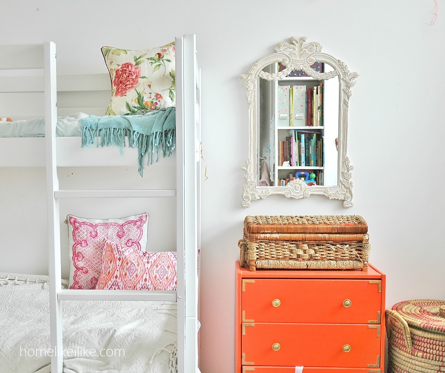boho girls room - homelikeilike.com