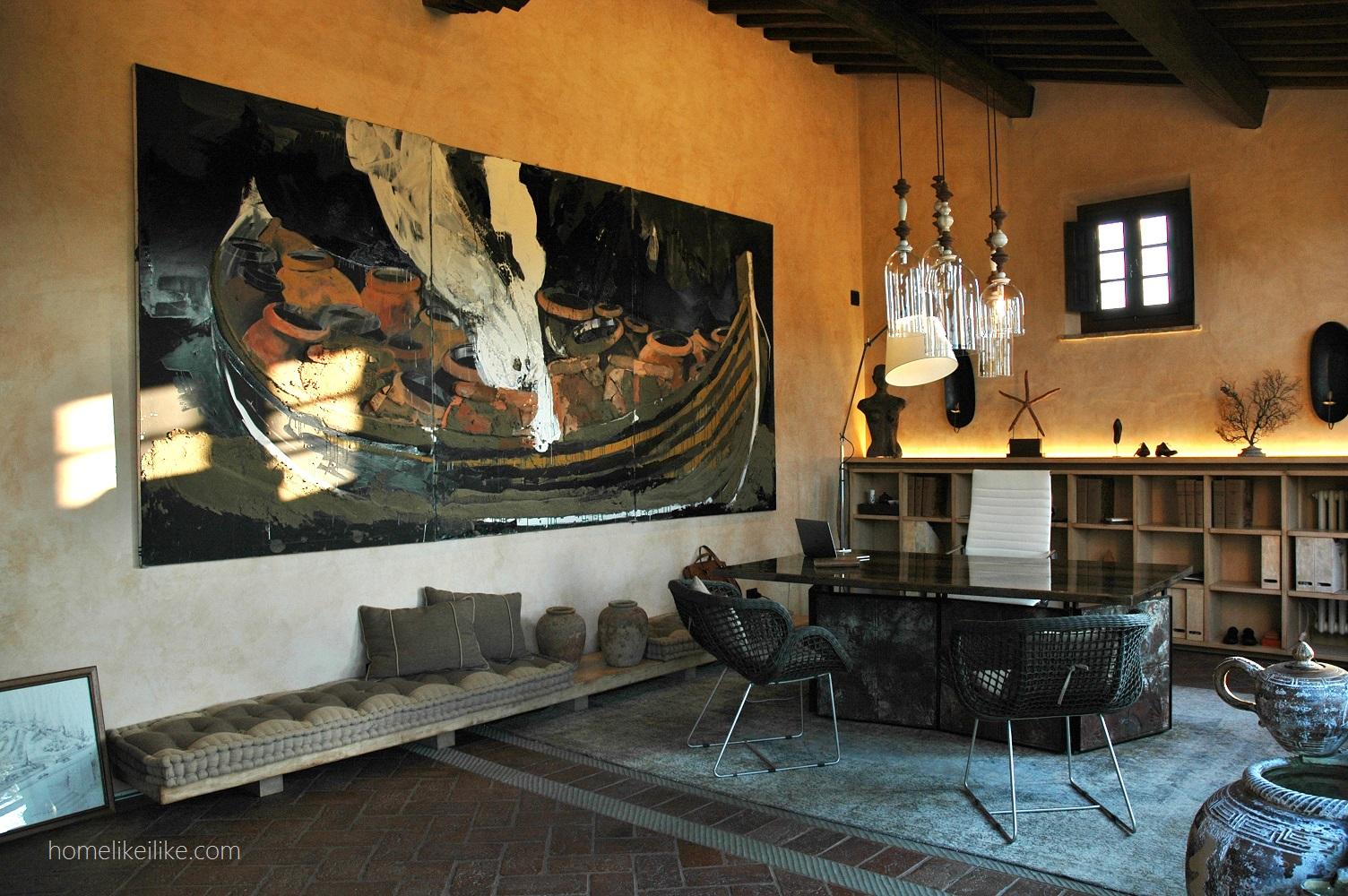 tuscany interiors - homelikeilike.com