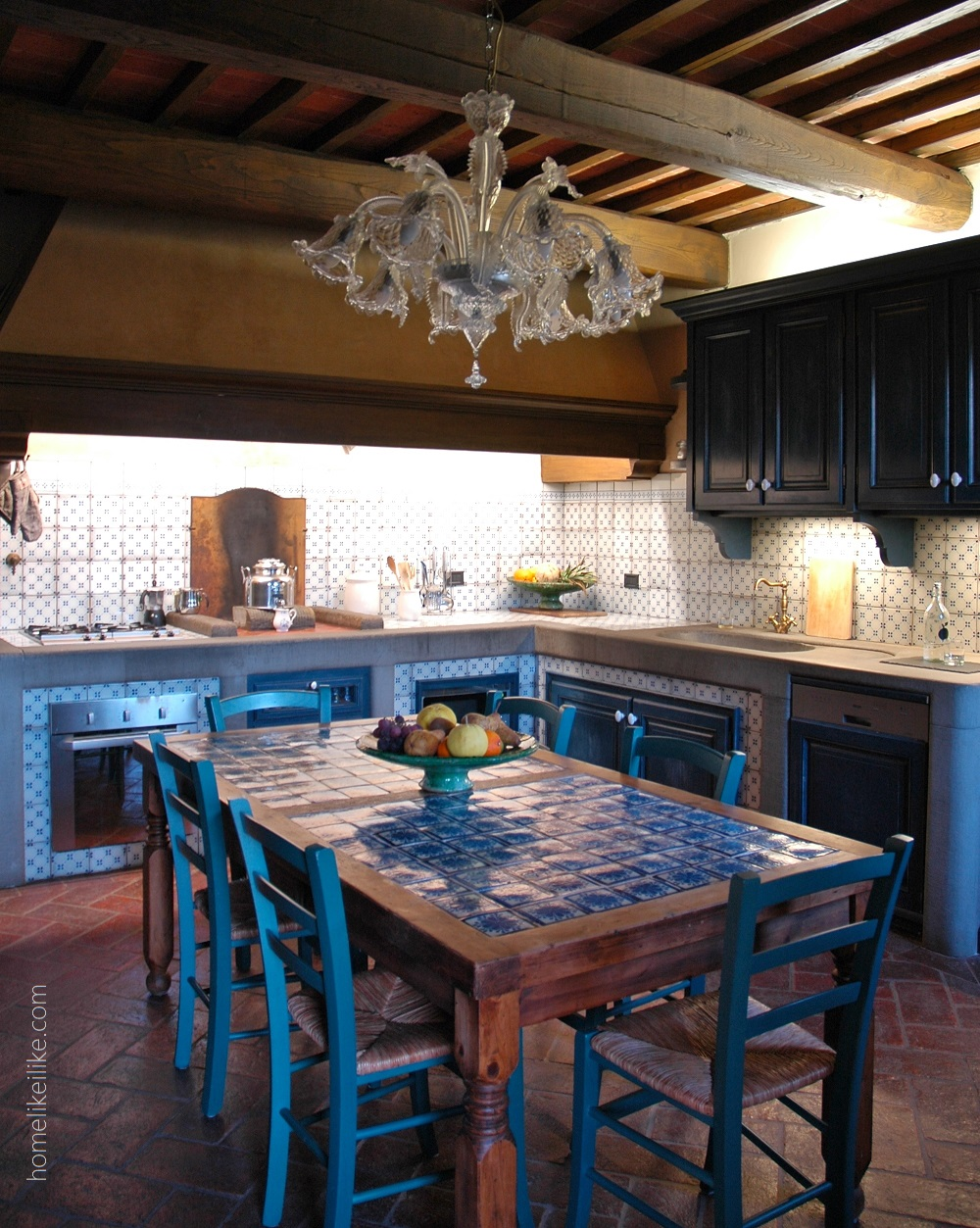 tuskany kitchen - homelikeilike.com