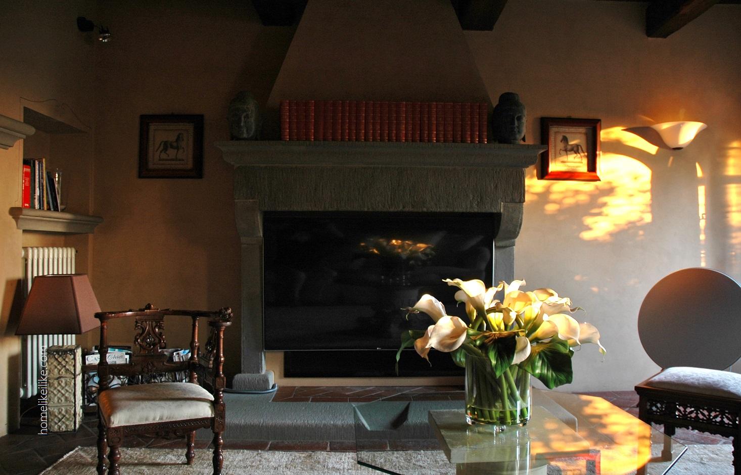tuscany fireplace - homelikeilike.com