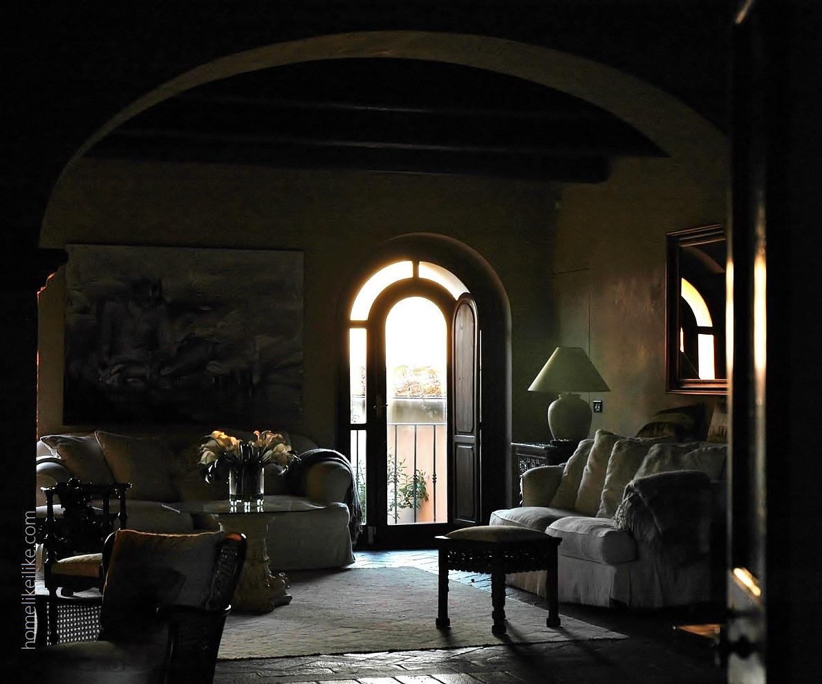 tuscany livingroom - homelikeilike.com
