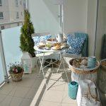 Wiosenny balkon: dekoracja – teleportacja