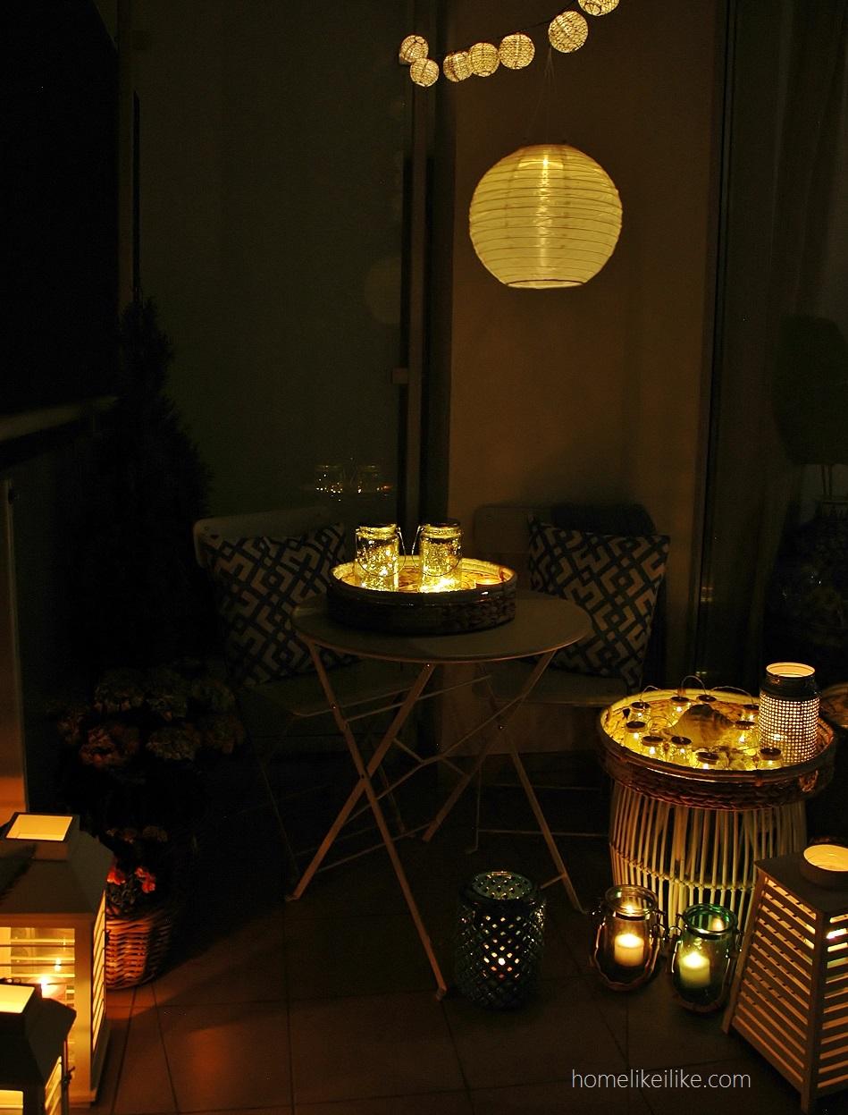 balkon nocą - homelikeilike.com
