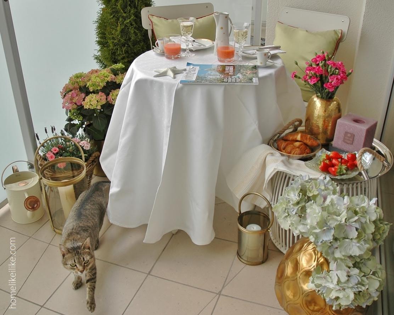paryski balkon ze Sweet Living Home Inspirations - homelikeilike.com
