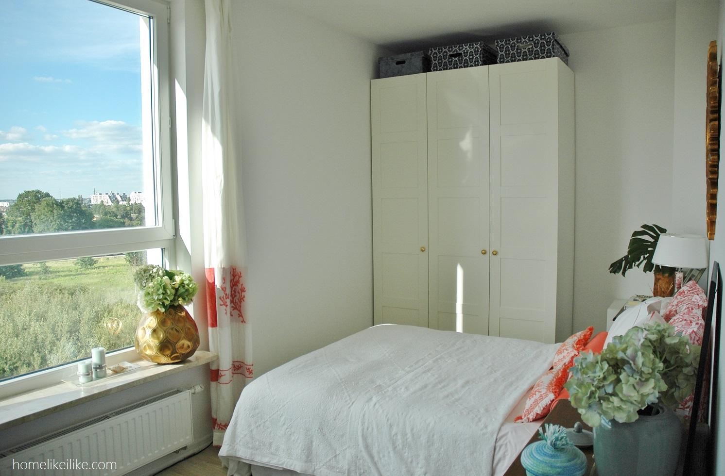 Styl coastal w sypialni - homelikeilike.com