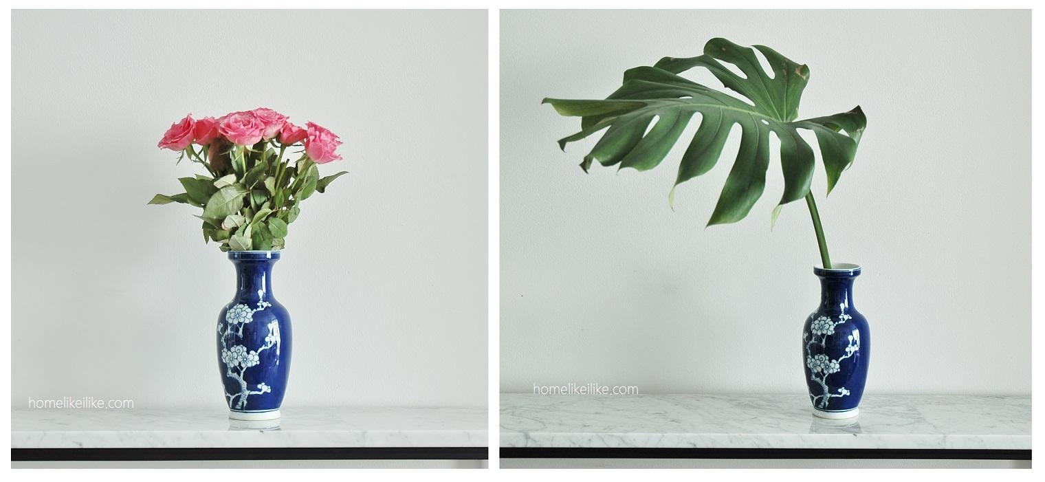 jak dopasowac wazon do kwiatów - homelikeilike.com