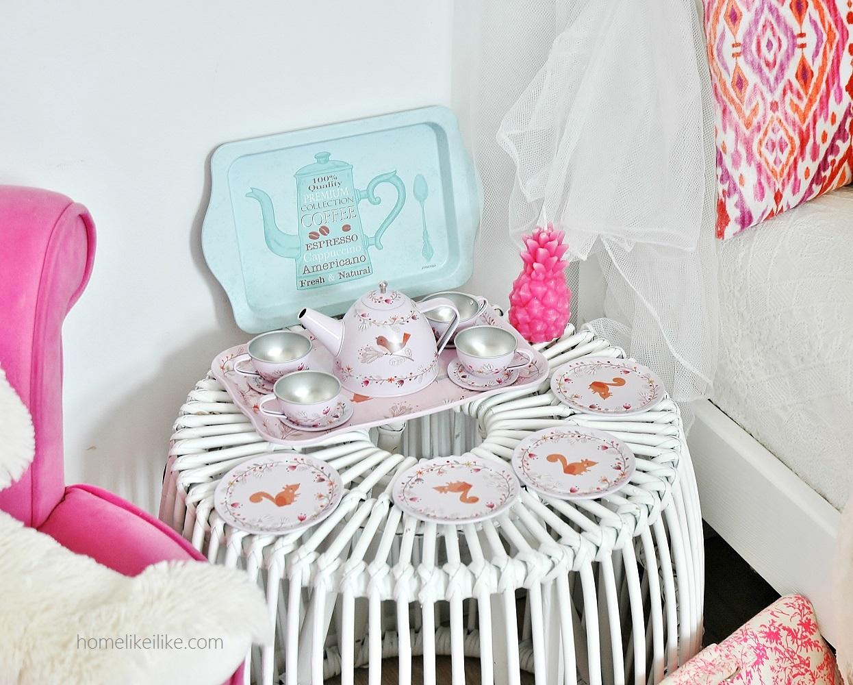 pokój dziewczęcy - homelikeilike.com