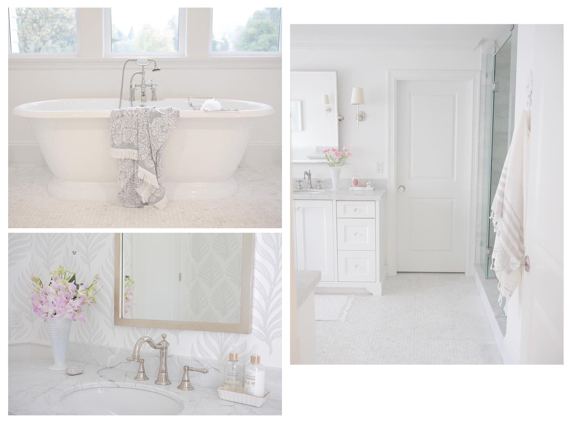 jshomedesign - bathrooms - biały dom