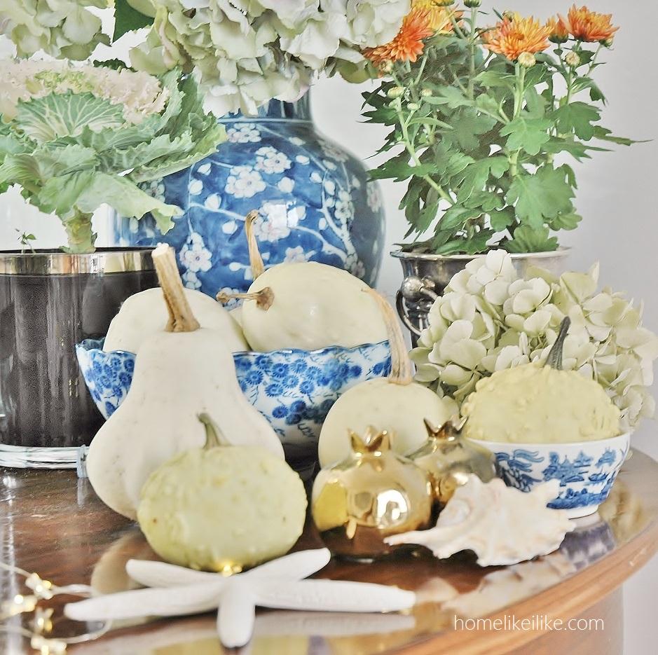 blue and white autumn - homelikeilike.com