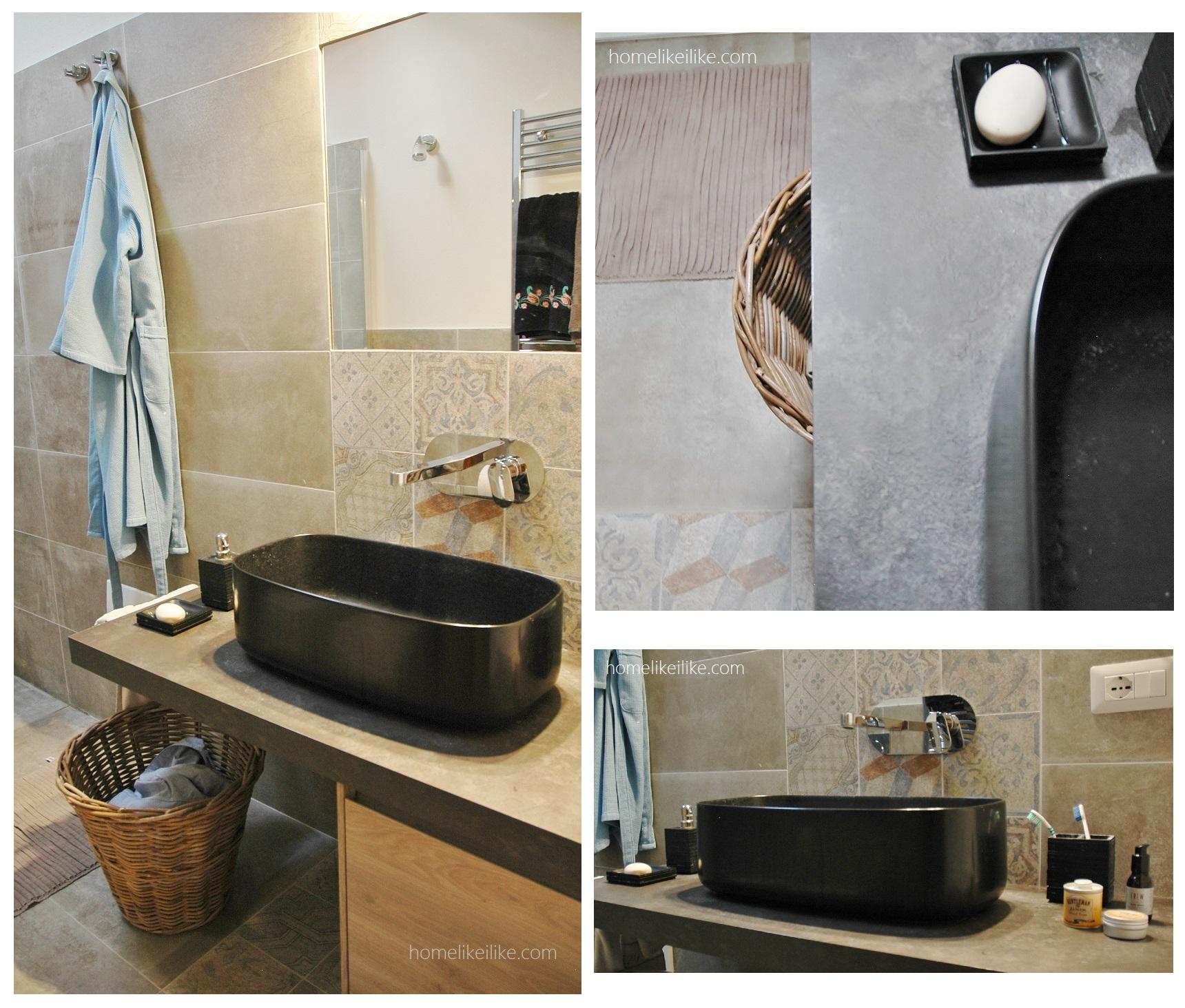 Mediterranean bathroom - homelikeilike.com
