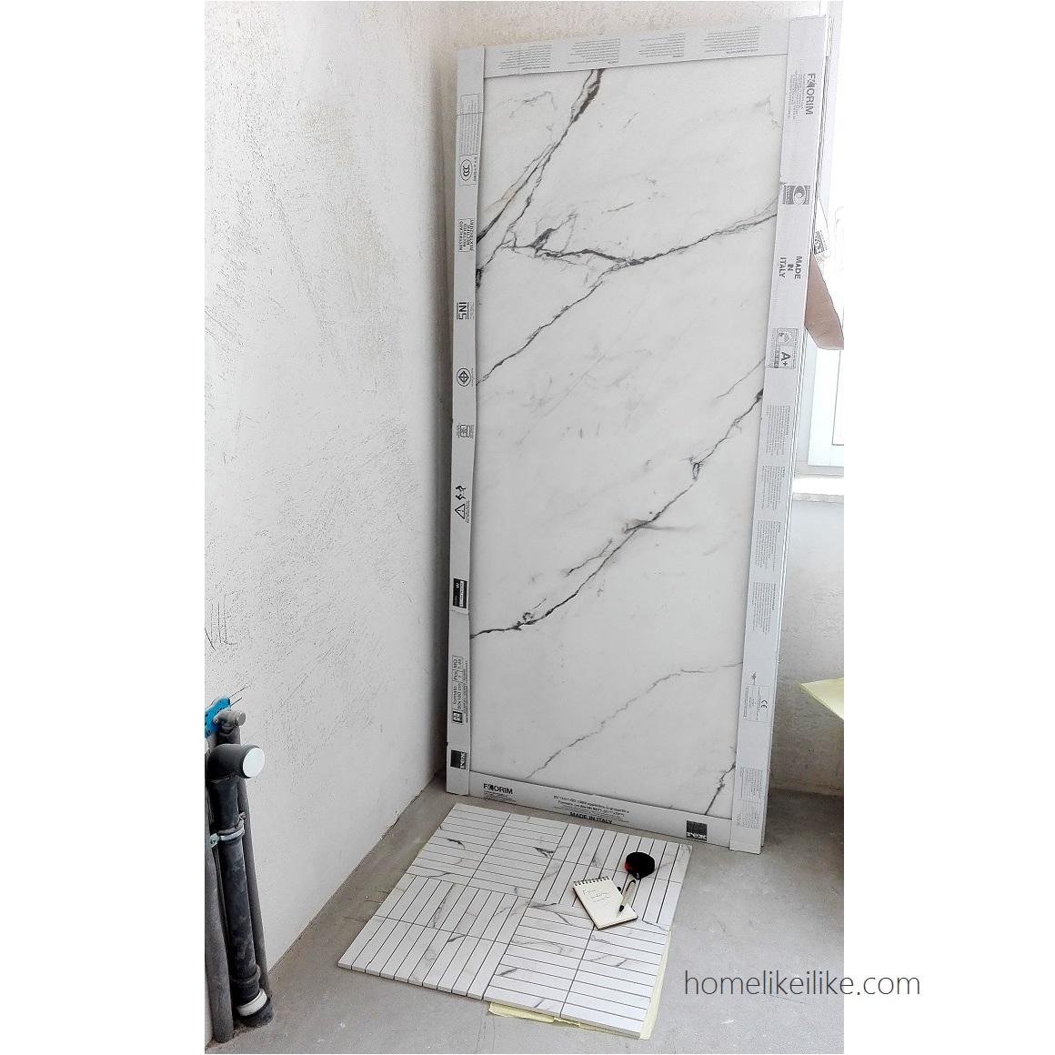 mała łazienka - homelikeilike.com