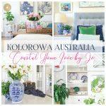 Kolorowy australijski coastal style – poznajcie Jo