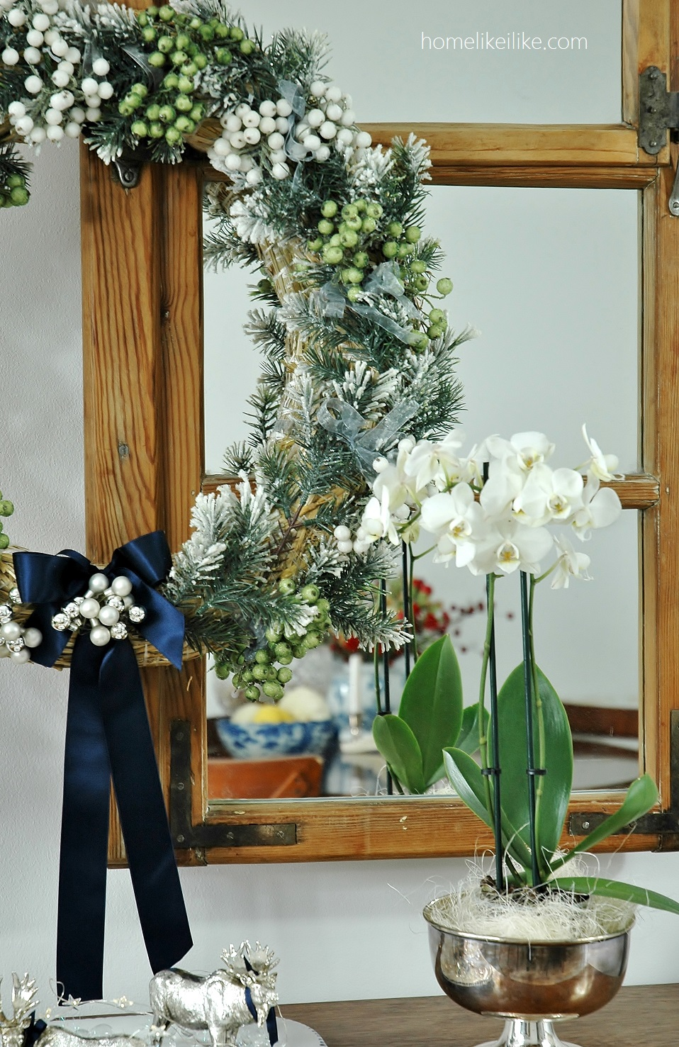 navy blue christmas - homelikeilike.com