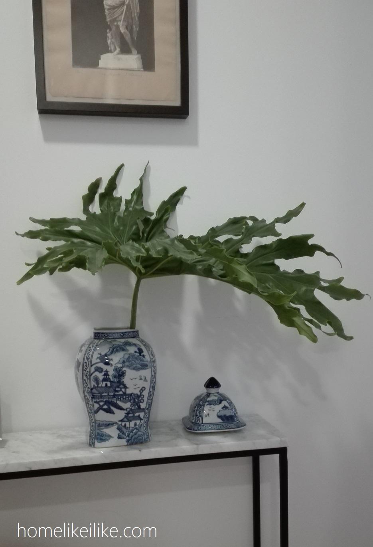 blue and white ginger jar - homelikeilike.com