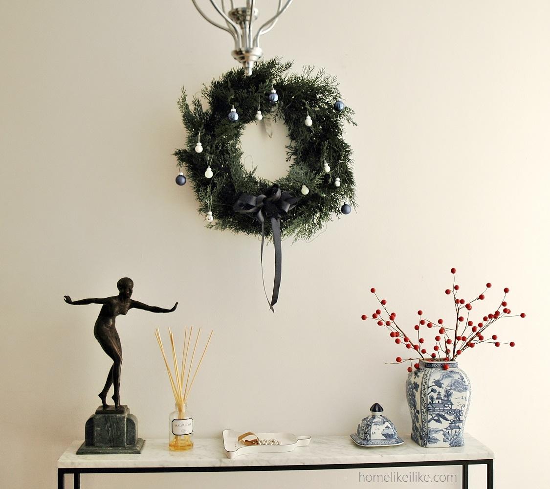 vignette christmas styling