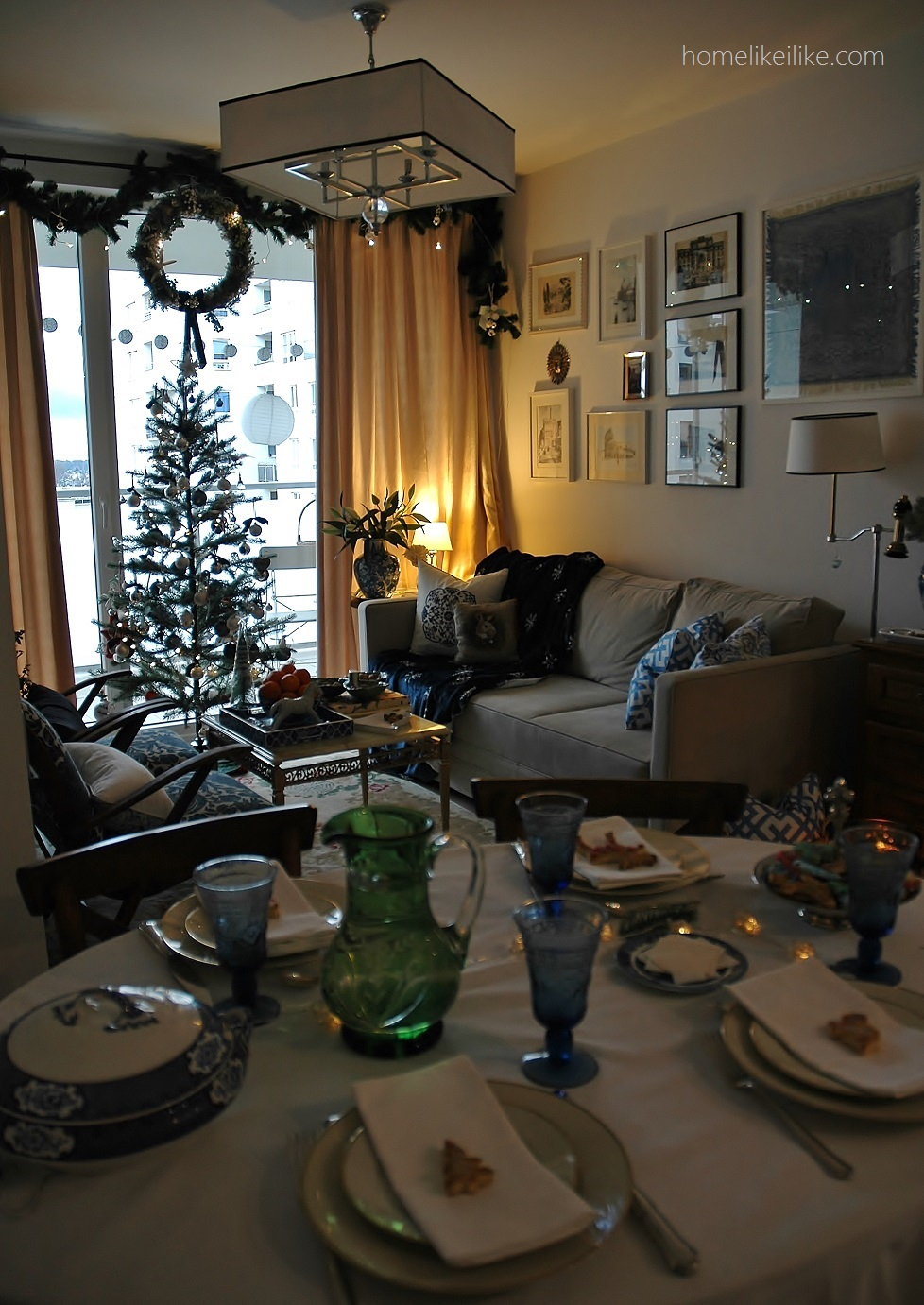 christmas styling - homelikeilike.com