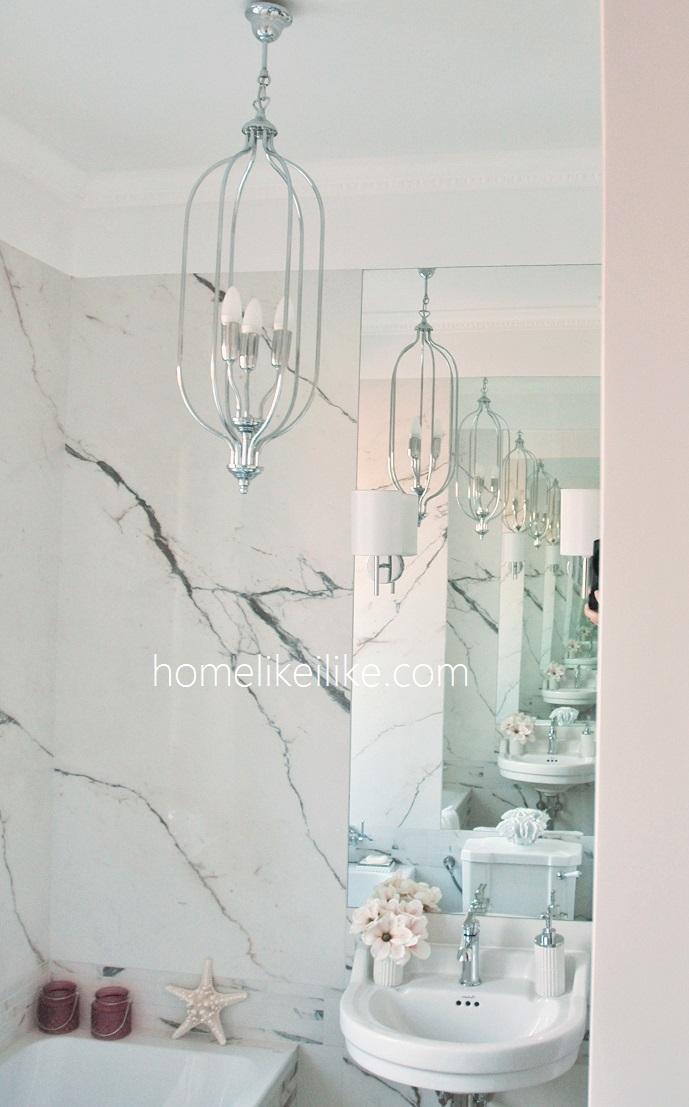 marble bathroom - homelikeilike.com